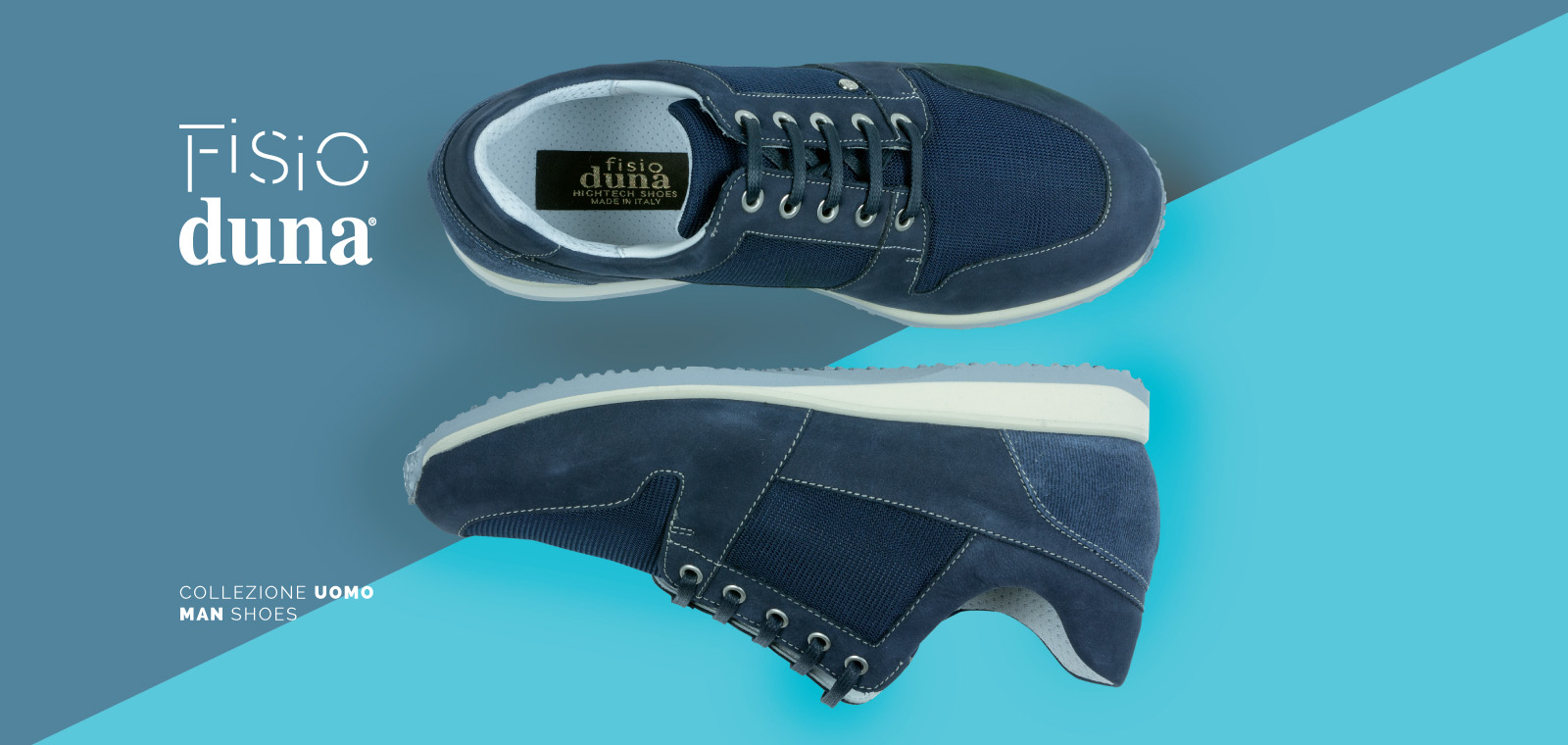Fisio Duna orthopaedic shoes man